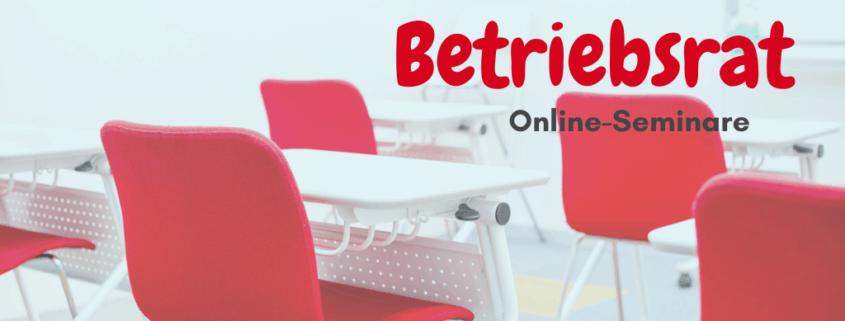 Online-Seminare für Betriebsräte