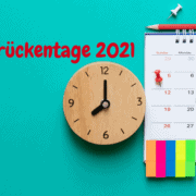 2021 Brückentage