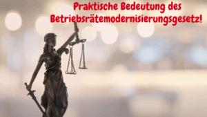 Betriebsrätemodernisierungsgesetz 2021
